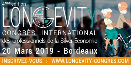 Congrès LONGEVITY – Bordeaux