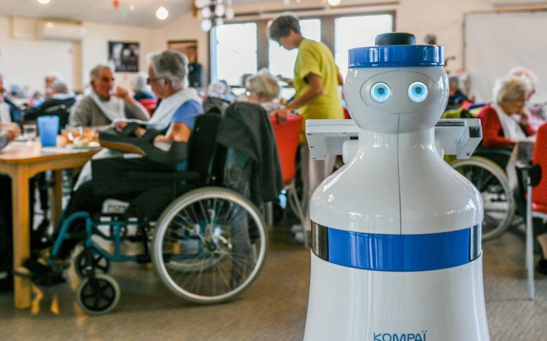 Un robot en un hogar de ancianos, ¿para hacer qué?
